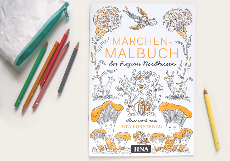 Rita Fürstenau   Fairy Tale Coloring Book